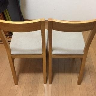 無印良品 椅子 2脚 - 新宿区