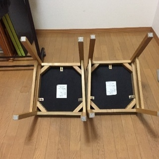 無印良品 椅子 2脚 - 家具