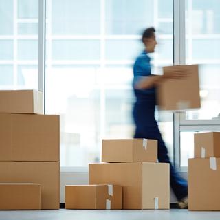 商品の運搬、納品の代行さんです