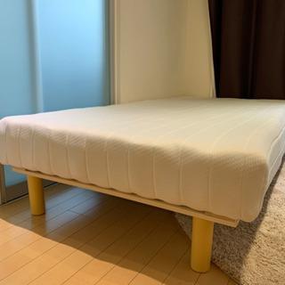 シングルベッド ニトリ  脚付きマットレス 使用期間1年未満