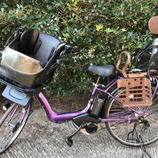 N00H電動自転車L67E🌹ヤマハパスキッス🌹充電器なし!8アンペア