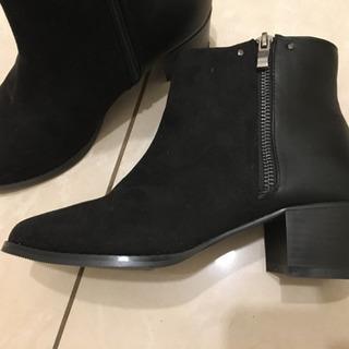 人気の黒❣️新品、ブーツ、M