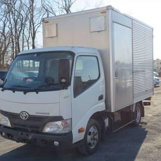 24年式トヨエース17万㎞/2tアルミバントラック/新普通免許5...