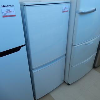 シャープ SHARP 2ドア冷凍冷蔵庫 SJ-14C-W 137...