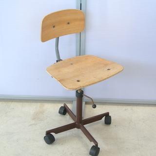 KEVI デンマーク 北欧家具 ビンテージ 木製 デスクチェア ...