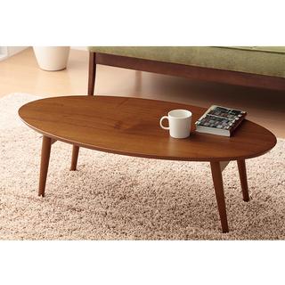 ★あげます!オーバル・木製折りたたみテーブル★