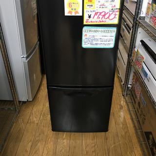 2018年製 Panasonic 138L冷蔵庫 NR-BW14AC