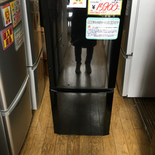 2018年製 MITSUBISHI 146L冷蔵庫 MR-P15C-B