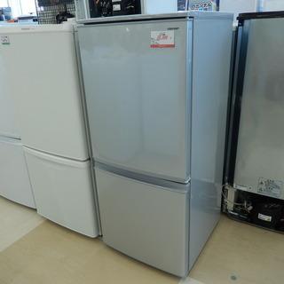シャープ SHARP 2ドア冷凍冷蔵庫 SJ-D14D-S 13...