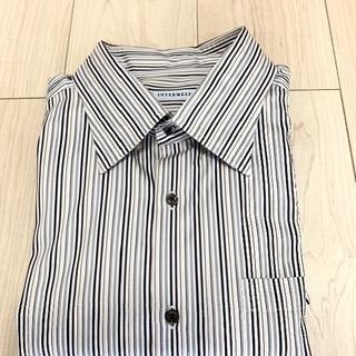 ストライプシャツ ワイシャツ (3L )レナウン