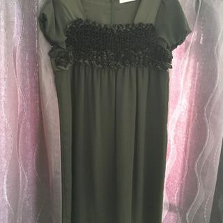 黒ワンピース フォーマルワンピ 冠婚葬祭 ドレス