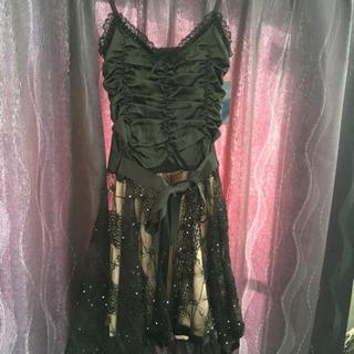 パーティドレス カラードレス 新品未使用 黒 M ワンピース