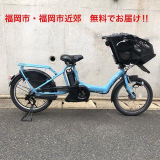 PayPay使えます‼︎三人乗り 電動自転車 ヤマハ パスキス 20型
