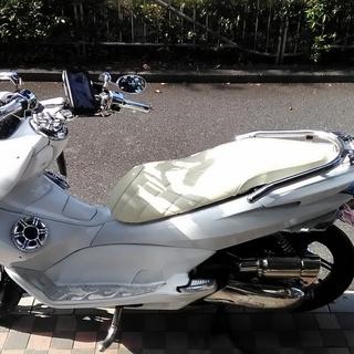 PCX125 フルカスタム LED付き - バイク