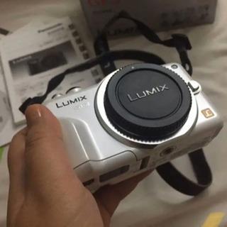 タイムセール❗️パナソニック LUMIX GF3 ミラーレス一眼カメラ