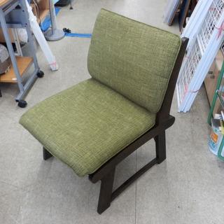 パーソナルチェア 1人掛けイス 緑 木枠1人掛けソファ イス 椅...