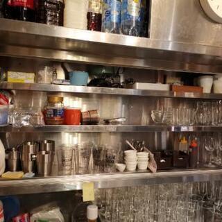 飲食店 吊り棚 キッチン収納