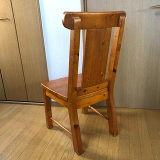 ナチュラル/ カントリー調【チェア】木の椅子