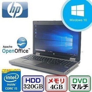 【ジモティ限定価格】中古ノートパソコン HP ProBook 6...