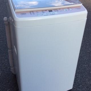 【RKGSE-198】特価!アクア/7kg/全自動洗濯機/AQW...