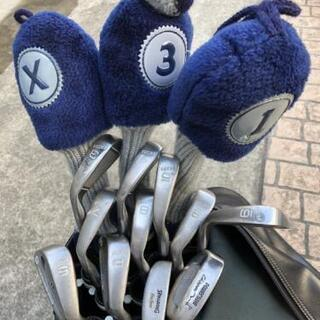 ゴルフクラブ14本とバック、ボールetc
