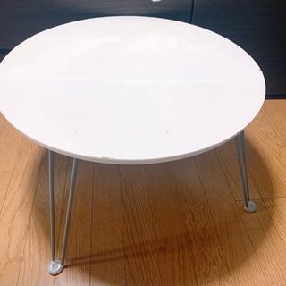 ニトリ 折りたたみ 丸テーブル