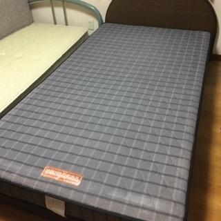 木製ベッド シングル マットレス