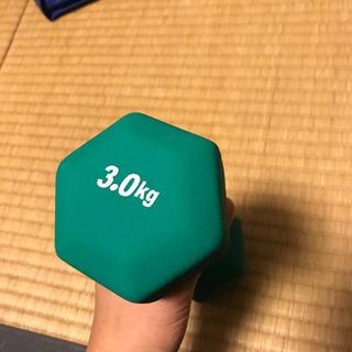 ダンベル 3kg ひとつ