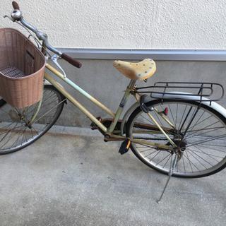 自転車 ママチャリ 錆あり 乗れれば良い人向け