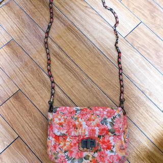 花柄ショルダーバッグ