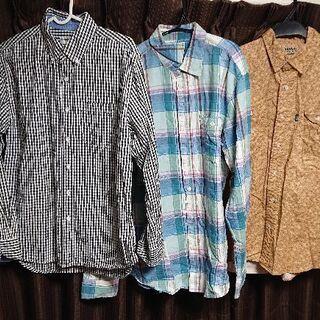 メンズシャツ*3着セット★GAP、KANSAI JEANS他