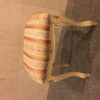 イタリア製 スツール 猫脚 ロココ調 ディスプレイ 店舗什器 ア...