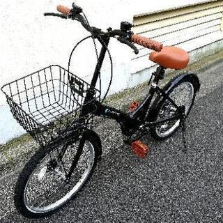 折り畳み自転車 6段ギア 鍵おまけ