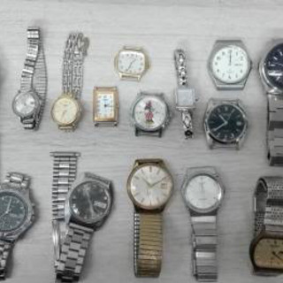 腕時計、懐中時計、ジャンク品でも全て買います!
