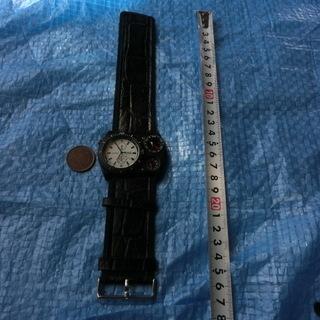 ★★多機能腕時計oulm★注目度が凄い(◆秒針が3個一緒に動く、...