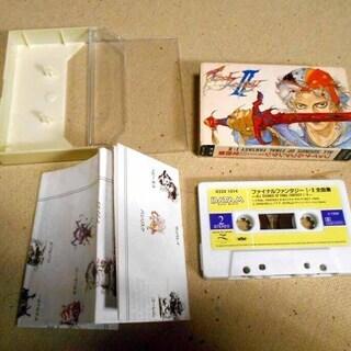 ファイナルファンタジー1・2全曲集 カセットテープ 発送は+500円