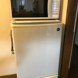 パナソニック 冷蔵庫、電子レンジ