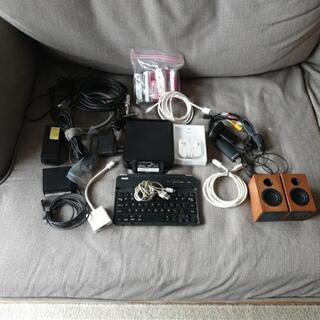 あげます:Appleイヤフォン、ウェブカム、USBスピーカ、wi...