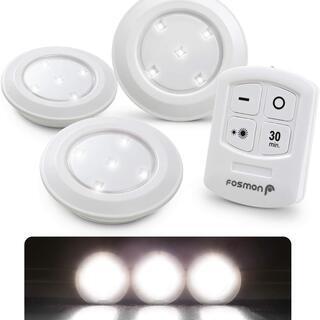 【新品・未使用】LEDキャビネットライト 3個セット 昼白色 タ...