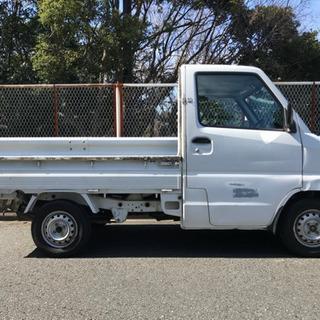 平成12年 ミニキャブトラック 4WD 5F AC 走行8.8万キロ 車検対応可 - 横須賀市