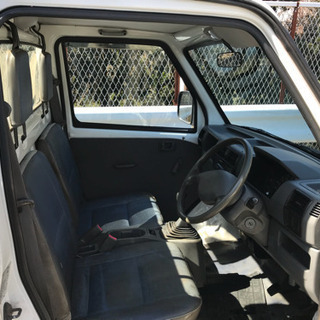 平成12年 ミニキャブトラック 4WD 5F AC 走行8.8万キロ 車検対応可 - 中古車