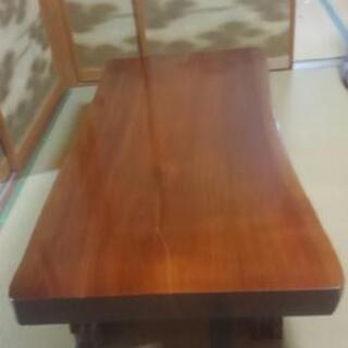立派な 和風 テーブル