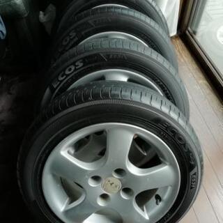 タイヤ4本セット155ー65ー14