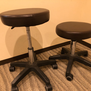 昇降式の丸椅子
