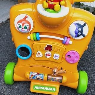 値下げしました!! アンパンマン 三輪車 幼児用 乗り物 遊戯 車