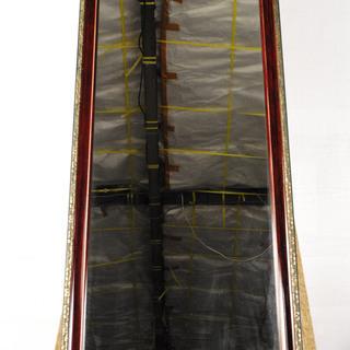 2089 木製フレーム 全身鏡 長方形 姿見 ミラー 幅46.5...