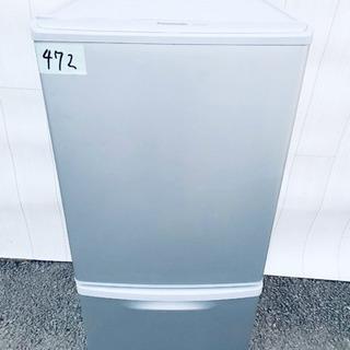 ❷472番 Panasonic✨ ノンフロン冷凍冷蔵庫❄️  N...
