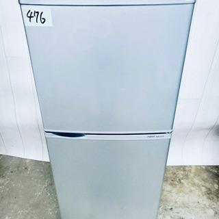 ❷476番 AQUA✨ ノンフロン冷凍冷蔵庫❄️  AQR-14...