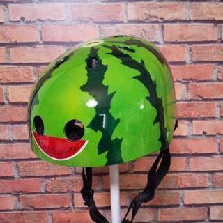 自塗装🍉スイカ柄スポーツヘルメット