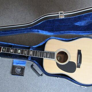 ★モーリスギター左用 Morris W-100L 1980年前後...